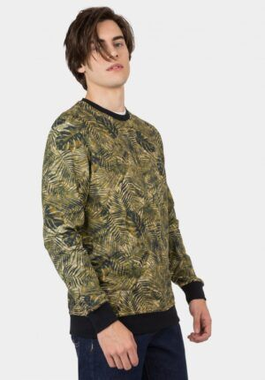 SUDADERA ESTAMPADO TROPICAL CERES