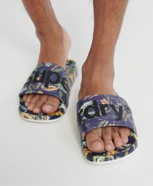 CHANCLAS DE PLAYA ESTAMPADAS